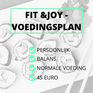 Voedingsplan
